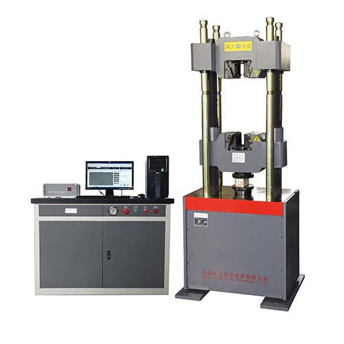 WAW-1000B Electro-hydraulic Servo Strand Testing Machine
