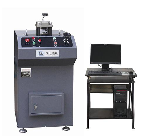 The main structure and working principle of the computer control deep drawing cups testing machine