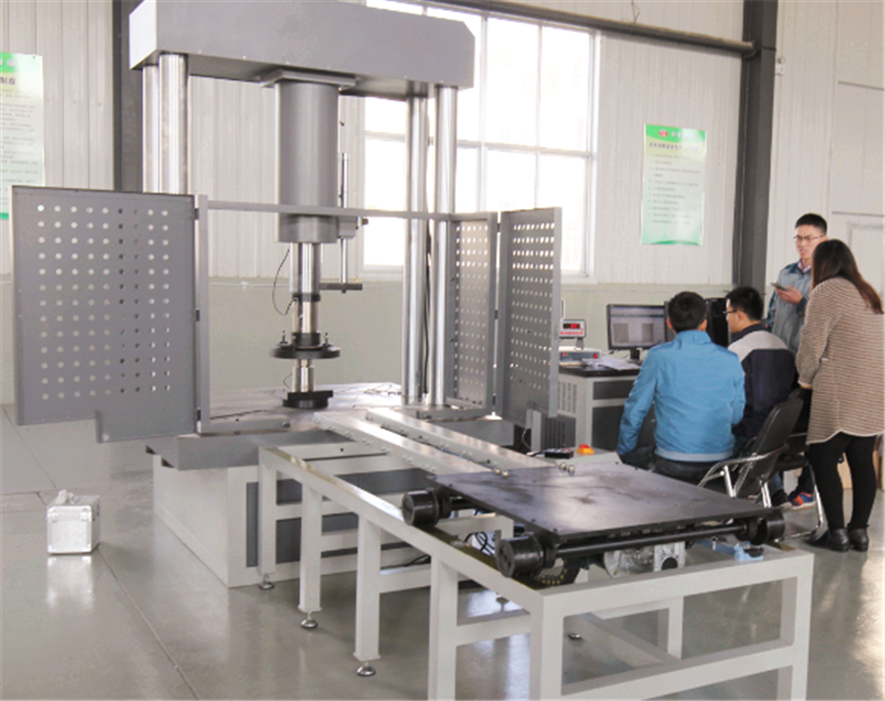 JYAW series computer controlled manhole cover compression testing machine