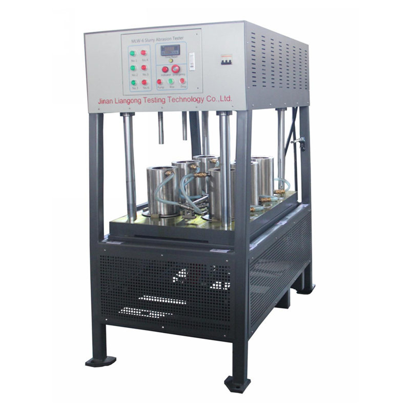MLW-6 slurry abrasion tester is free abrasive wear testing machine