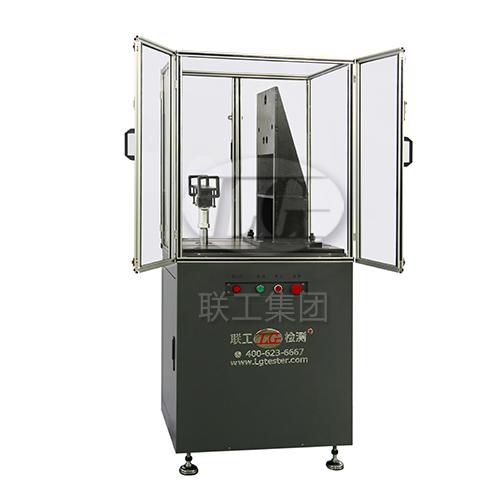 微机控制下接触受流器耐久试验台